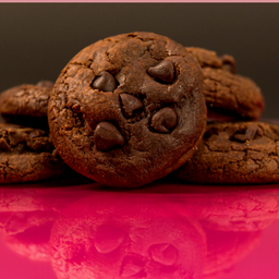 Cookies Doble Chocolate X 5