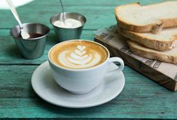 3 Tostadas + Latte