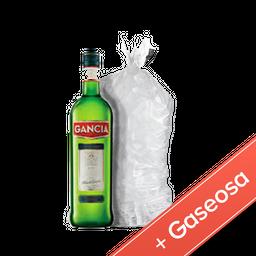 Combo Gancia 950ml + 1 Sprite 2.25lts + 1 Bolsa Hielo 4kg
