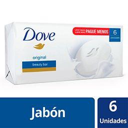 Jabón de Barra Dove 90 g X 6