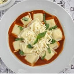 Ravioles de Pollo & Verdura