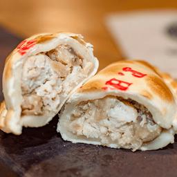 Empanada de Pollo y Hongos