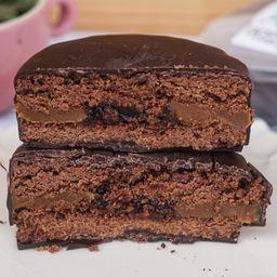 Alfajor de Chocolate con Corazón de Fr