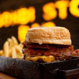 Doble Cheese Burger Bacon