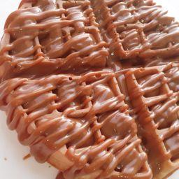 Desayuno de Waffle Full Dulce de Leche