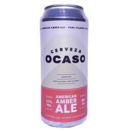 Cerveza American Amber Ale Lata 473ml