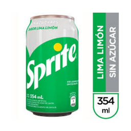 Sprite sin Azúcar 354 ml