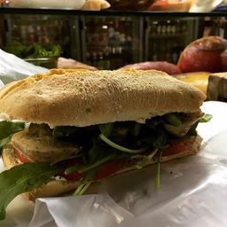 Sándwich Veggie de Alcauciles