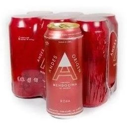 Six Packs Andes Roja 500 ml