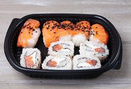 Bandeja Sushi Full Salmón 10 Piezas
