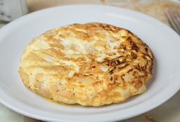 Tortilla de Papa, Cebolla & Queso