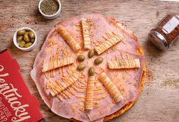 Pizza Jamón y Palmitos