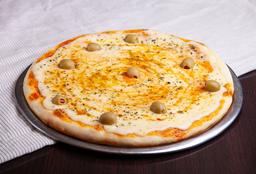 Pizza Grande de Muzza + 2 Fainá + Gaseosa