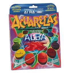Acuarelas Alba - Estuche X 12 Colores