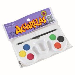 Acuarelas Alba - Estuche X 6 Colores