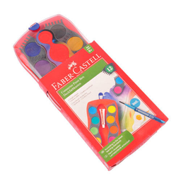 Acuarelas Faber Castell Connector - Estuche X 12 Colores