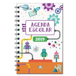 Agenda Escolar 2019 V&R Semana A La Vista 15 X 20 Cm