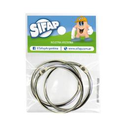 Aros Para Carpeta Sifap - 5 Cm, Pack X 3 Unidades