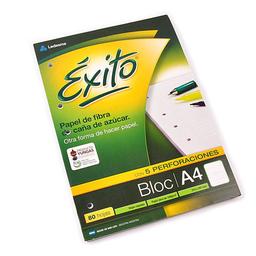 Block A4 Éxito X 80 Hojas Rayado