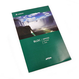 Block Avon Sin Espiral Liso - Oficio, 80 Hojas
