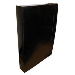 Carpeta Negra Oficio-2 5 Cm Staples Con 3 Solapas