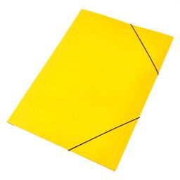 Carpeta Staples Cartón Cierre Elástico Amarilla - Oficio