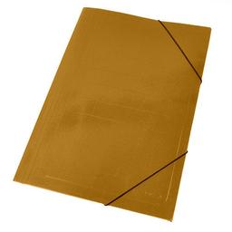Carpeta Staples Cartón Cierre Elástico Marrón - Oficio
