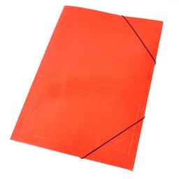 Carpeta Staples Cartón Cierre Elástico Roja - Oficio
