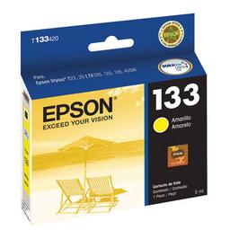 Cartucho Epson 133 Amarillo - T133420-Al, 385 Páginas