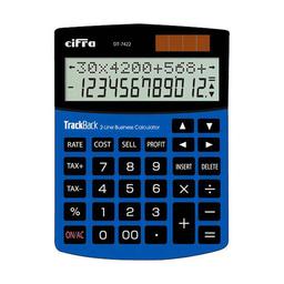Calculadora De Escritorio Cifra Dt7422 - Azul