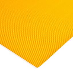 Plancha Cartón Microcorrugado Asamblea Amarillo