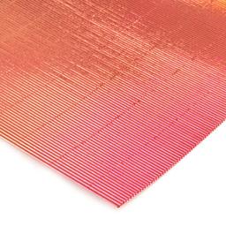 Plancha Cartón Microcorrugado Asamblea Cobre - 50 X 70 Cm, 250 G