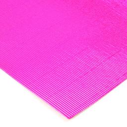 Plancha Cartón Microcorrugado Asamblea Rosa Metalizado