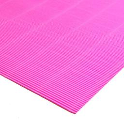 Plancha Cartón Microcorrugado Asamblea Rosa - 50 X 70 Cm, 180 G