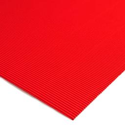 Plancha Cartón Microcorrugado Asamblea Rojo - 50 X 70 Cm, 180 G