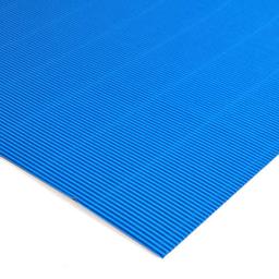 Plancha Cartón Microcorrugado Asamblea Azul Cielo
