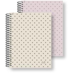 Cuaderno Con Espiral Ledesma Colección 16X21 Cm Liso 84 Hojas