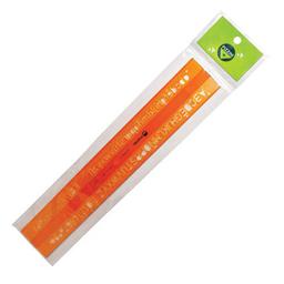 Letrógrafo Pizzini Flexible Naranja - 10 Mm