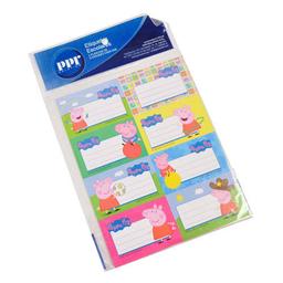 Etiquetas Escolares Peppa Pig X 16