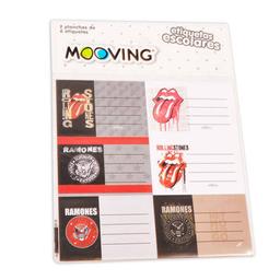 Etiquetas Escolares Universal Music X 12
