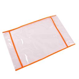 Funda Para Cuaderno Escolar N°3 Con Ribeteado Naranja