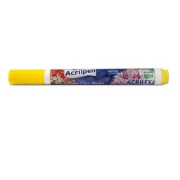 Marcador Acrilex Acrilpen Amarillo Oro