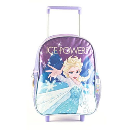 "Mochila Frozen Ice Power Con Carro 12"""