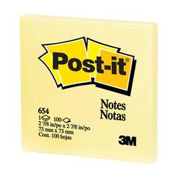 Notas Adhesivas 3M Post-It Tradicional Amarillo Canario