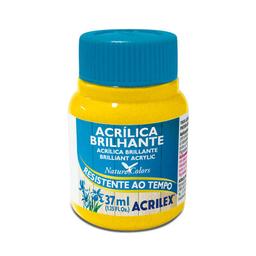 Acrílico Brillante Acrilex 37Ml Amarillo Oro