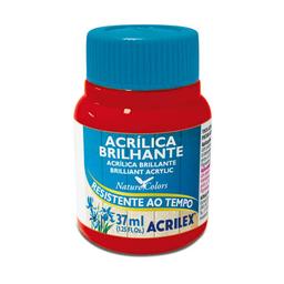 Acrílico Brillante Acrilex 37Ml Rojo Escarlata