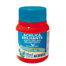 Acrílico Brillante Acrilex 37Ml Rojo Fuego