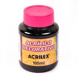 Acrílico Decorativo Mate Acrilex 100Ml Negro