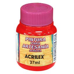Acrílico Decorativo Mate Acrilex 37Ml Rojo Escarlata