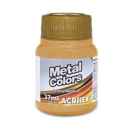 Acrílico Metal Colors Acrilex 37Ml Oro Viejo